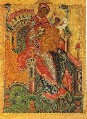 "Theotokos ""Enthroned"" icon (6)"