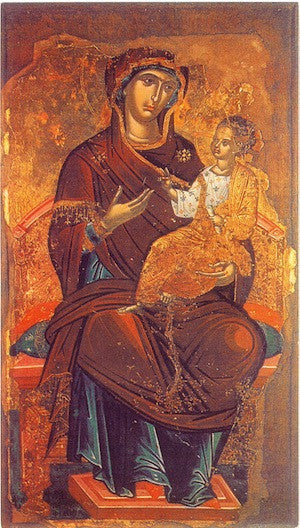 "Theotokos ""Enthroned"" icon (5)"