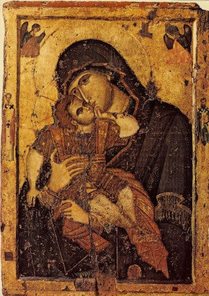 "Theotokos ""Tenderness"" icon(18)"