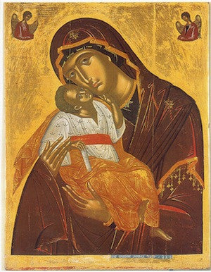 "Theotokos ""Tenderness"" icon(21)"