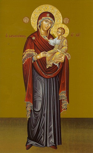 "Theotokos "" Quick to Hear""icon"