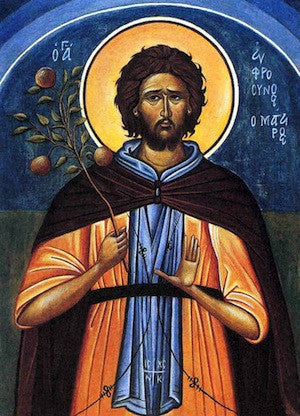 St. Euphrosynos the Cook icon (2)