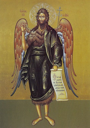 St. John the Baptist and Forerunner icon (2)