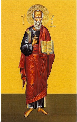St. John the Apostle, Evangelist and Theologian icon (3)