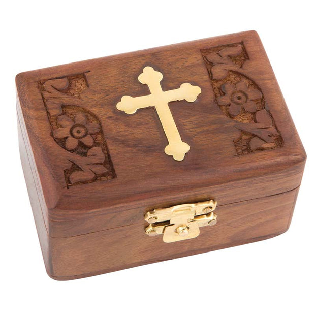 Wooden Incense Box 32-298