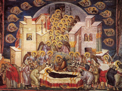 Dormition of Theotokos Icon (1)