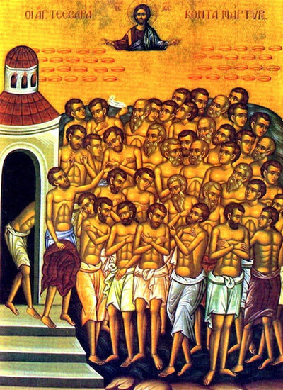 Forty Martyrs of Sebaste icon