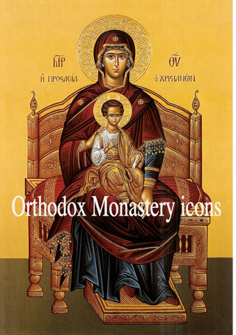 "Theotokos ""Enthroned"" icon (2)"