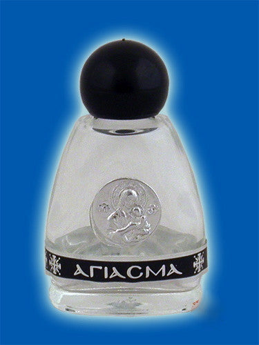 Glass bottle for Holy Water or Holy Oil (2)