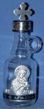 Glass Bottle for Holy Water or Holy Oil (1)
