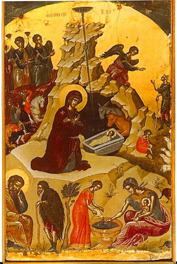 Nativity of our Lord Jesus Christ icon (1)