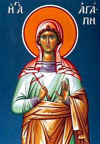 St. Love  (Agape ) Icon