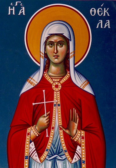 St. Thekla Equal to Apostles icon