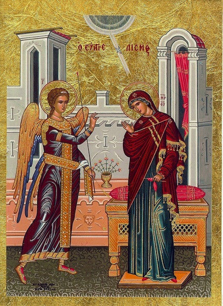 Annunciation of Theotokos Icon(SSC)