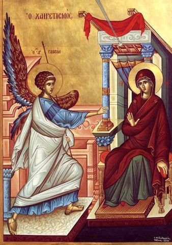 Annunciation of Theotokos icon (5)