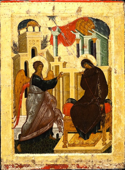 Annunciation of Theotokos icon (11)