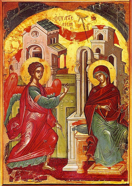 Annunciation of Theotokos icon (4)