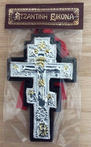 Hanging Cross for baby's Crib or car's mirror BCC-1