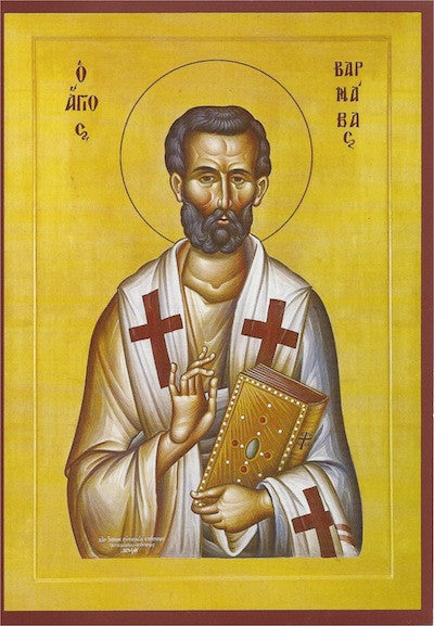 St. Barnabas the Apostle icon