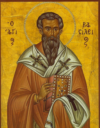 St. Basil the Great icon (1)