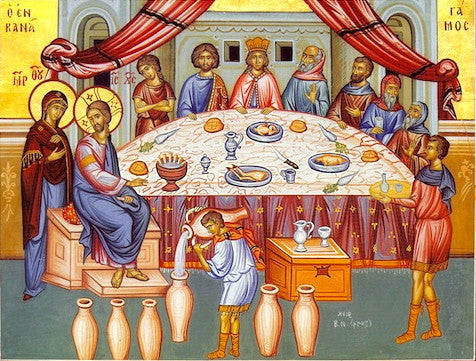 Wedding of Cana Icon
