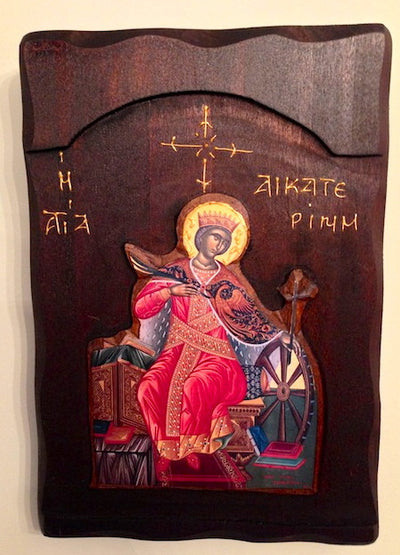 St. Catherine 3D  icon (T1)