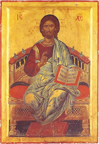 "Jesus Christ ""Enthroned"" icon (2)"