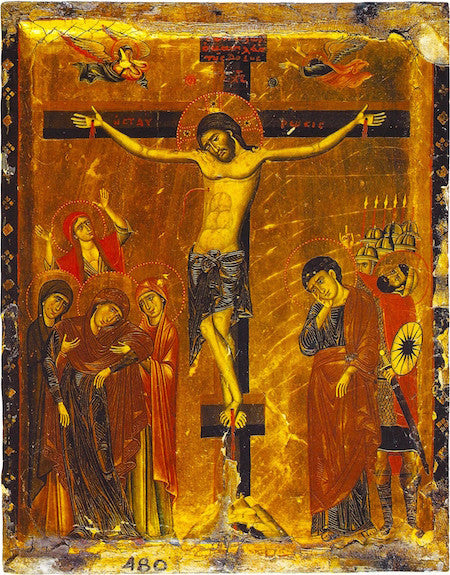 Crucifixion icon (4)