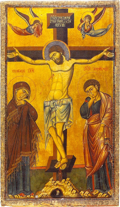 Crucifixion icon (11)
