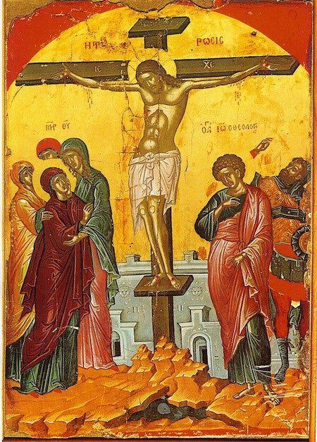 Crucifixion icon (2)