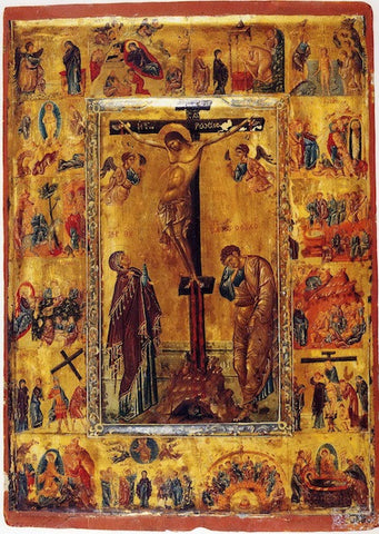 Crucifixion icon (3)