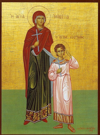 Ss. Cyrikus and Julitta icon