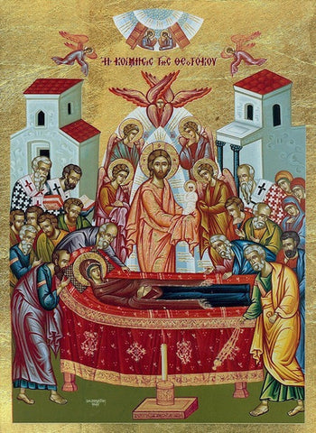 Dormition of Theotokos Icon(SSC)