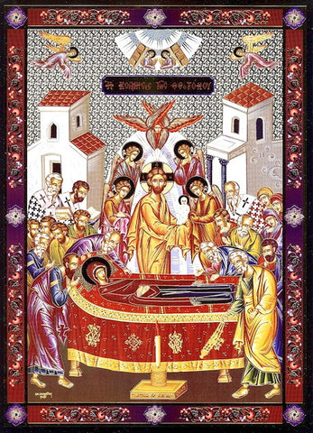Dormition of Theotokos Icon(SP)