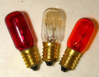 Bulb for Electric Vigil lamp.