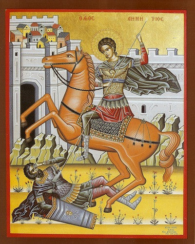 St. Demetrios icon (4)