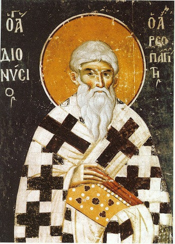 St. Dionysios the Areopagite icon (1)