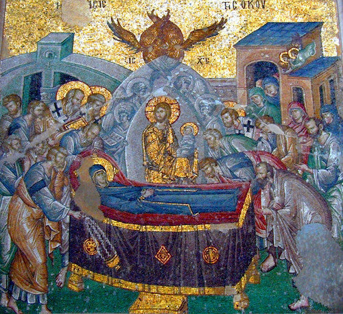 Dormition of Theotokos icon (4)