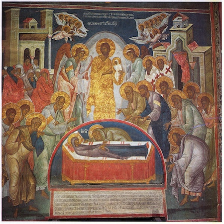 Dormition of Theotokos icon (5)