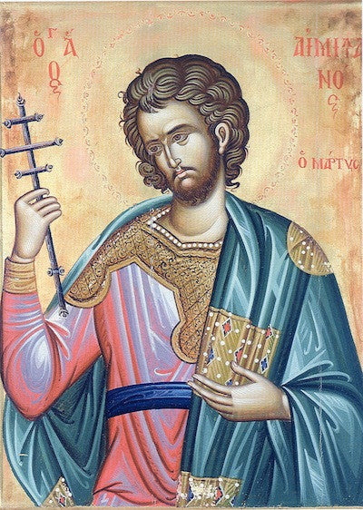 St. Emilian the Martyr of Silistria icon