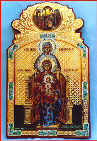 Foremothers of Jesus Christ icon