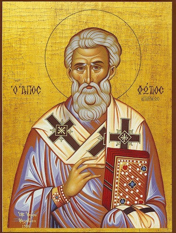 St. Photios the Great icon