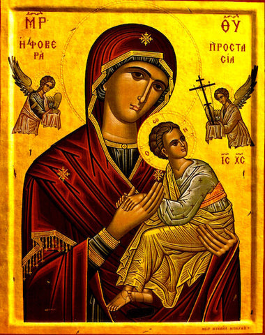 "Theotokos ""Holy Protection"" icon (3)"