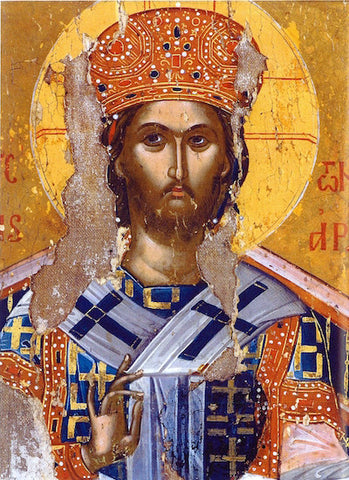 Jesus Christ the Great Hierarch icon (5)