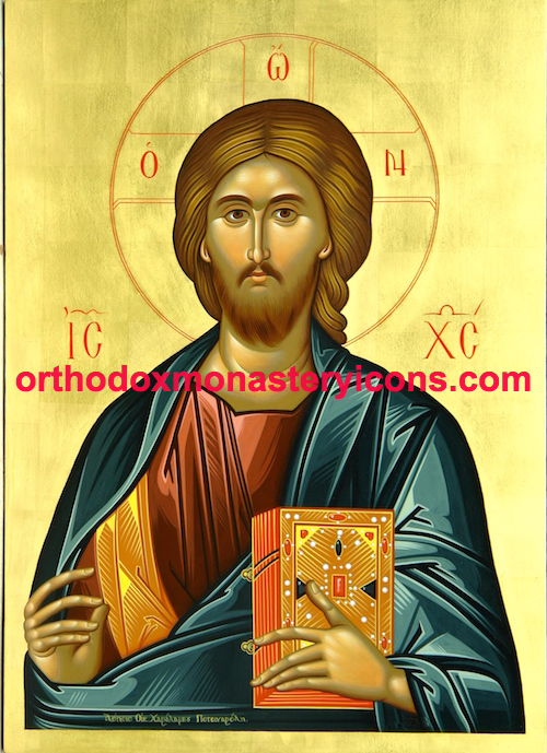 "Jesus Christ ""Pantocrator"" icon ( 2 )"