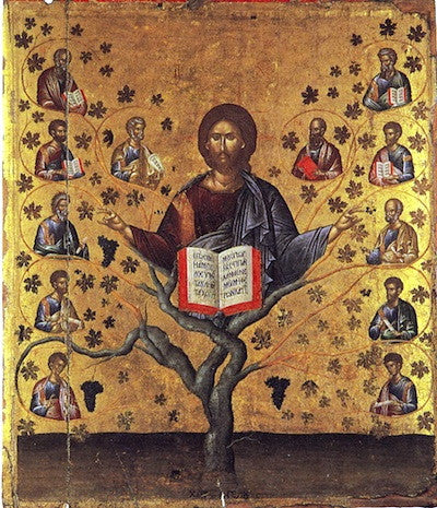 "Jesus Christ  ""The Vine"" icon (2)"