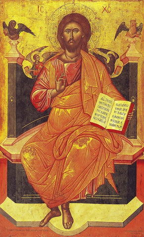 "Jesus Christ ""Enthroned"" icon (1)"