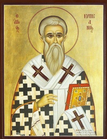 St. Cyprian icon