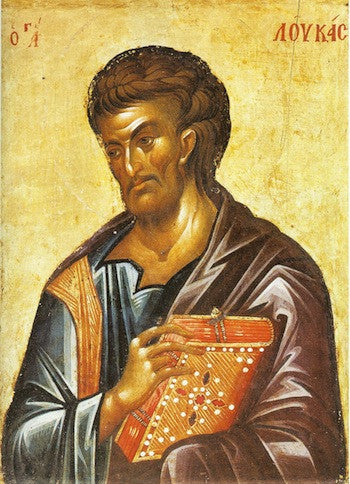 St. Luke the Apostle and Evangelist icon