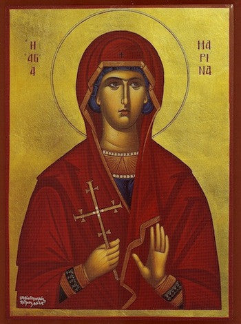 St. Marina the Great Martyr icon (1)